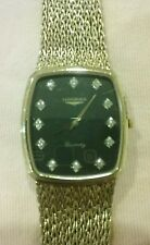 Vintage Longines Diamond Dial Men's Watch