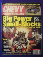 CHEVY HI PERFORMANCE - '70 S5 454 - June 2004