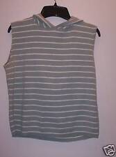 Two-One-Two-New-York M cotton green and white striped