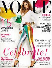 VOGUE UK 12/2011 GISELE BUNDCHEN Kirsi Pyrhonen HAILEY CLAUSON Chloe Moretz