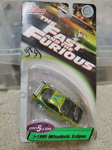Racing Champions 1:64 Diecast 1995 Mitsubishi Eclipse Fast And The Furious