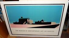 "ARATA ISOZAKI ""THE MUSEUM OF CONTEMPORARY ART LOS ANGELES HUGE COLOR POSTER"