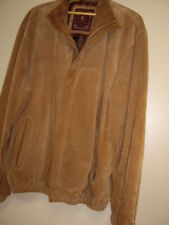 Territory Ahead Suede Leather Bomber Style Jacket. Men's size large. Brown.
