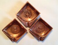1964-65 New York World's Fair American-Israel Pavilion ashtrays (3 in total)