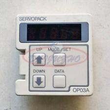 1PC Used Yaskawa JUSP-OP03A servo drive operation panel