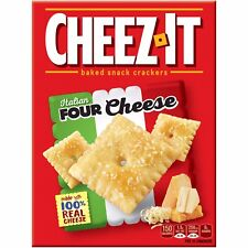 NEW SEALED CHEEZ IT SNACK MIX ITALIAN FOUR CHEESE 12.4 OZ  BAKED SNACK CRACKERS