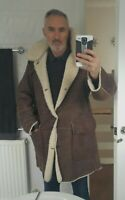Marlboro Classics Men's  SHEEPSKIN coat RRP £695 LARGE
