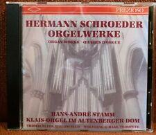 CD Orgel Organ Schroeder Toccata Präambeln Interludien Klais IV/82 Altenberg RAR