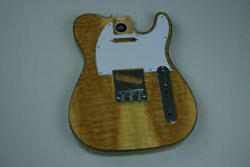 Voodoo Vibe Tele Telecaster Guitar BODY Edge Bound Tobacco Burst