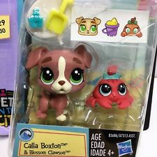 Littlest Pet Shop LPS Pets in the City Calla Boxton & Blossom Clawson Toy