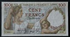 France - Francia - Billet de 100 Francs Sully du 6/2/1941 TTB+/SUP - VF+/XF