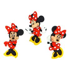 Minnie Mouse Buttons - Disney Party Favor - Baby Shower Embellishment -
