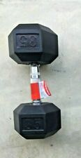 NEW WEIDER 35LB HEX DUMBBELL Single Weights Barbell