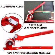 6/8/10mm Pipe Bending Tool Car Tubing Hose Brake Fuel Line Plier Tube Bender Kit