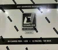 2021 Donruss Baseball 360ct Factory Sealed 12pk Cello Fat Pack Box! IN HAND