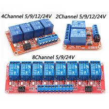 248 Channel Relay Module Board Optocoupler Highlow Level Trigger 5 24v A3gu