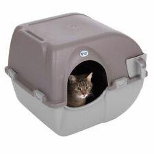 Maison de toilette chat auto-nettoyante - Grand modèle