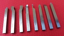 8mm  HSS LATHE FORM TOOLS SET  8 PIECES SQUARE SHANK