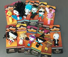 YooDara Good Luck Charm String VooDoo Doll Key Chain Collectible Lot of 144