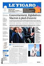 Le Figaro 9.5.2017 N°22626**FRANCE de MACRON& de LE PEN=ANALYSE élections CARTES