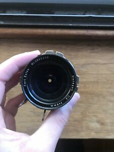 16mm Zeiss Distagon 8mm T2.4 Arri Standard Mount with PL Mount Adapter Vintage