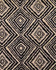 Marquee Black Tribal Rustic Safari Boho African Primitive Sofa Upholstery yard