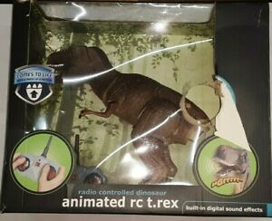THE BLACK SERIES ANIMATED RC RADIO CONTROLLED T-REX DINOSAUR no batteries uns