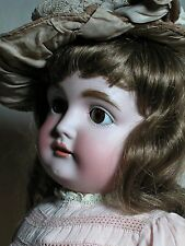 """German Kestner Doll Popular 164 Mold Beautiful Face Great Outfit 28"""" Tall"""