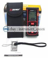 SNDWAY SW-E50 Digital Handheld Laser Rangefinder Distance Meter 50M/164ft/1969in