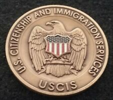 RARE USCIS Security US Citizenship and Immigration Service D HS Challenge Coin