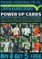 ADRENALYN XL ROAD TO EURO 2020 POWER UP CARDS - GAME CHANGER - NATIONS LEAGUE