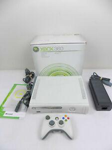 Like New Boxed Xbox 360 White Console + Genuine Wireles Controller - Dash 13604