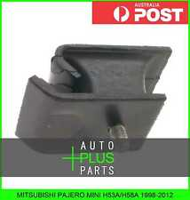 Fits MITSUBISHI PAJERO MINI H53A/H58A 1998-2012 Front Engine Motor Mount Rubber