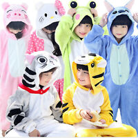 Animal Cartoon Adult Kids Cosplay Costume Pyjamas Pajamas Home Sleepwear