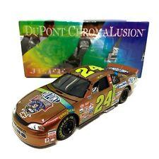 Jeff Gordon No. 24 Chromalusion 1998 Chevy Monte Carlo 1:24 Die Cast Car BANK