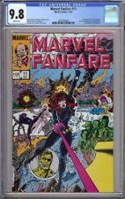 MARVEL FANFARE #11 CGC 9.8 1ST APPEARANCE IRON MAIDEN BLACK WIDOW 1983 !