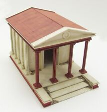 ROMAN TEMPLE (Streets & Gangs of Rome) - 28mm  - ASSEMBLED MDF & HIGHLY PAINTED