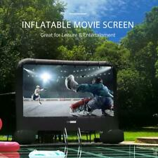 VIVOHOME 14FT-20FT Inflatable Movie Projection Screen Outdoor TV Theater Cinema