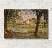 "ALFRED SISLEY FINE ART PRINT RIVER IMPRESSIONIST PAINTING, Fine Art Print 16x24"""