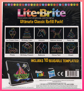 Ultimate Classic Refill Pack Reusable Templates Celebration Theme Art with Light