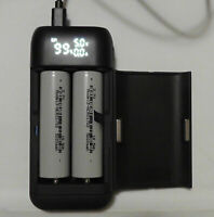 Tesla powered 21700 Powerbank - PB2S CHARGER,  WITH 4ea 5000 mah cells INCLUDED
