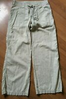 PATAGONIA PANT WOMENS LIGHTWEIGHT HEMP COTTON BLEND SIZE (8) 31 X 31 TAN