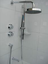 3 WAY TUTTI IN METALLO CROMATO Valvola Termostatica Showe, DUAL docce, & Bagno Beccuccio 089