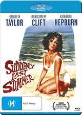 Suddenly  Last Summer (Blu-ray, 2016) Region B  ( Elizabeth Taylor )