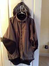 O'Neill SNOW WEAR GEAR RAIN WIND RESISTANT LONG lined Hooded SKI coat jacket  L