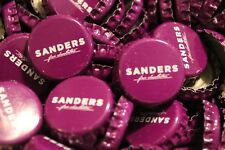 100 SANDERS CHOCOLATIERS BEER BOTTLE CAPS PURPLE NO DENTS FREE FAST SHPG!