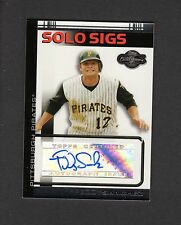 FREDDY SANCHEZ, Pirates 2007 TOPPS Solo Sigs/Co-Signers CERTIFIED AUTOGRAPH
