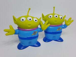 "Disney Mattel Lot of (2) Toy Story Alien 3"" Figures"