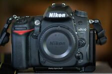 Nikon D D7000 16.2MP Camera - Black (Body Only) + Really Right Stuff L-Plate