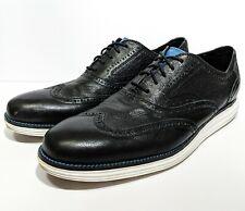 Cole Haan Original Grand Wingtip II Oxford Black Leather C21226 US Men's 11.5